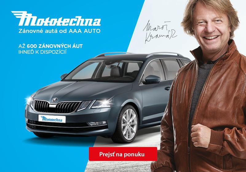 Mototechna - zánovní auta od AAA AUTO